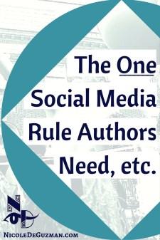 author social media