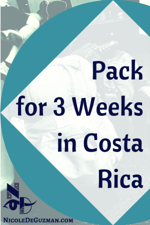 packing costa rica