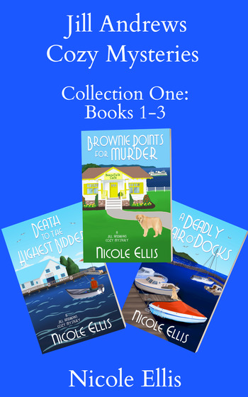 Jill Andrews Cozy Mysteries Collection 1: Books 1-3