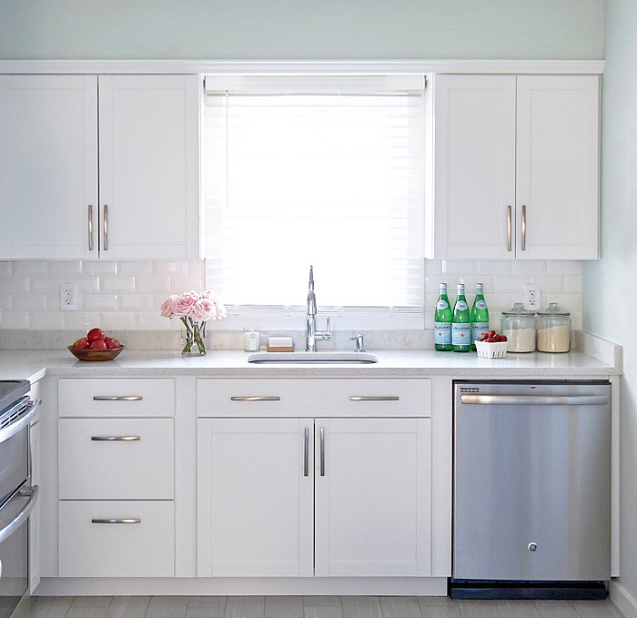 Lowes White Cabinets Kitchen Arcadia