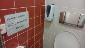 öffentlichen Toilette