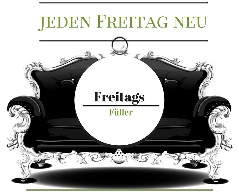 Facts about me: Freitagsfüller #425