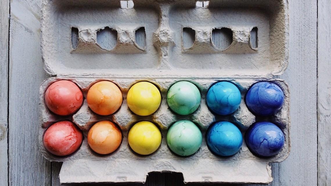 Ostern: Nester verstecken Mal anders