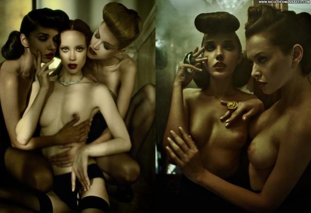 Filles De Nuit Steve Lyon For Treats   Fall Celebrity Posing Hot