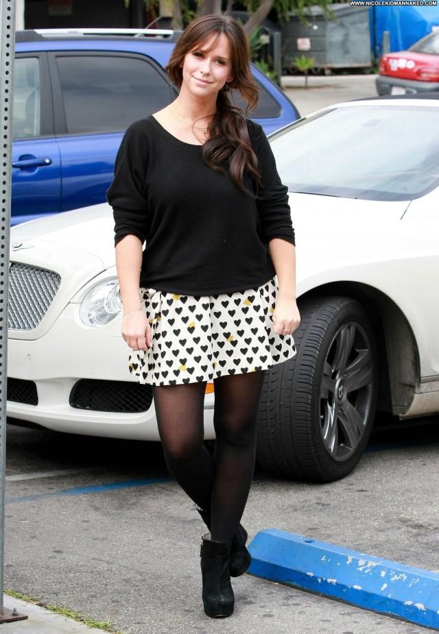 Jennifer Love Hewitt West Hollywood Posing Hot Babe High Resolution