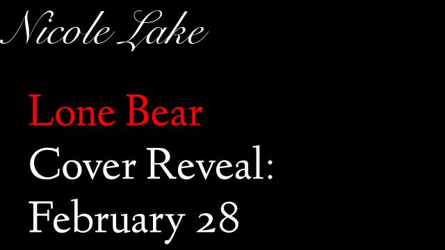 Lone Bear Cover Reveal: Feb 28