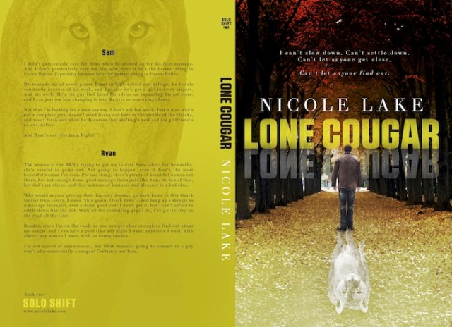 Lone Cougar paperback cover
