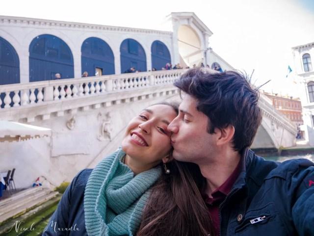 Nicole e Ranieri, ponte di Rialto - Nicole Maranta