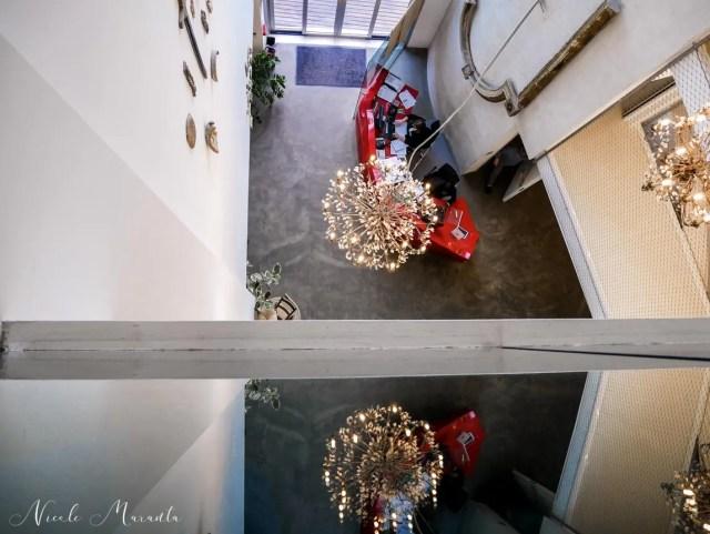Vista dal terzo piano sulla Hall - Nicole Maranta