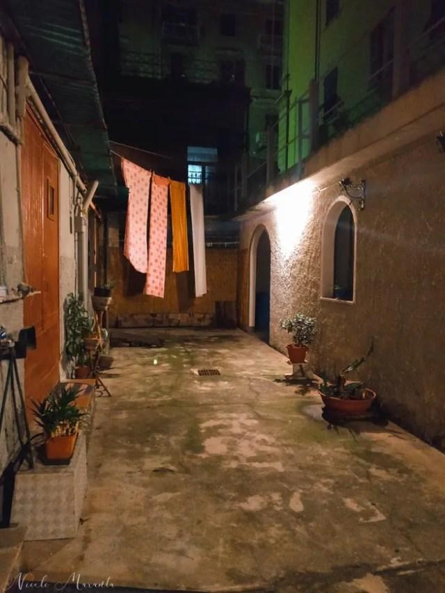 Il cortile esterno - Nicole Maranta