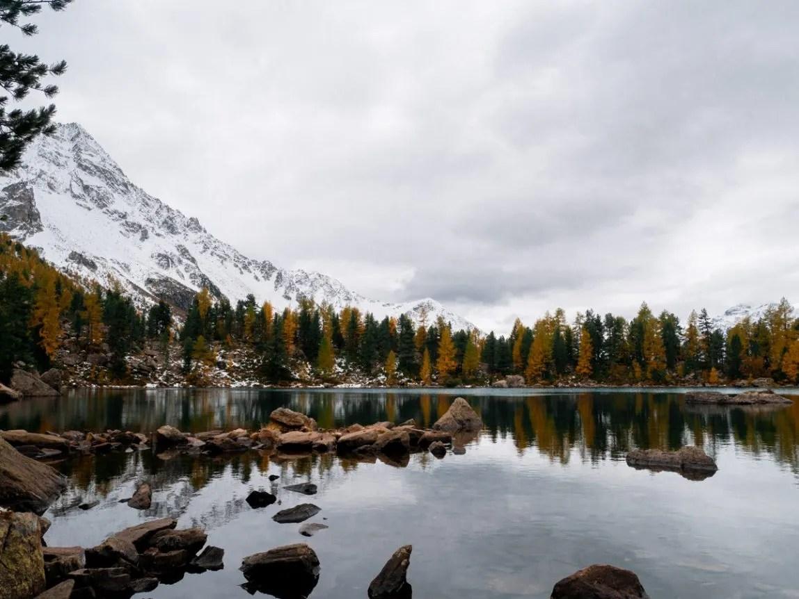 lago Saoseo panorama lago - Nicole Maranta