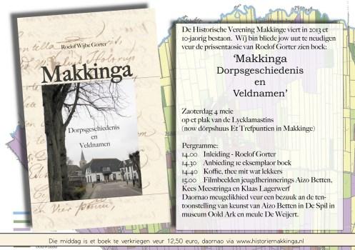 Uitnodiging presentatie boek