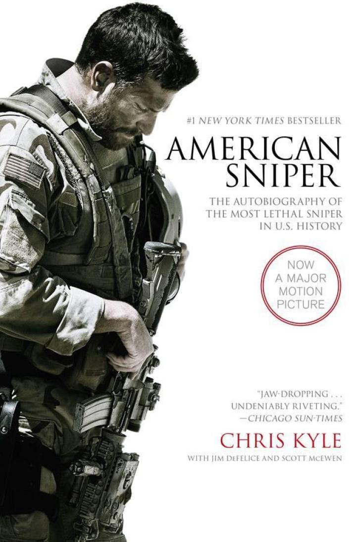 """""""American Sniper"""" by Chris Kyle. Film Tie-in Edition."""
