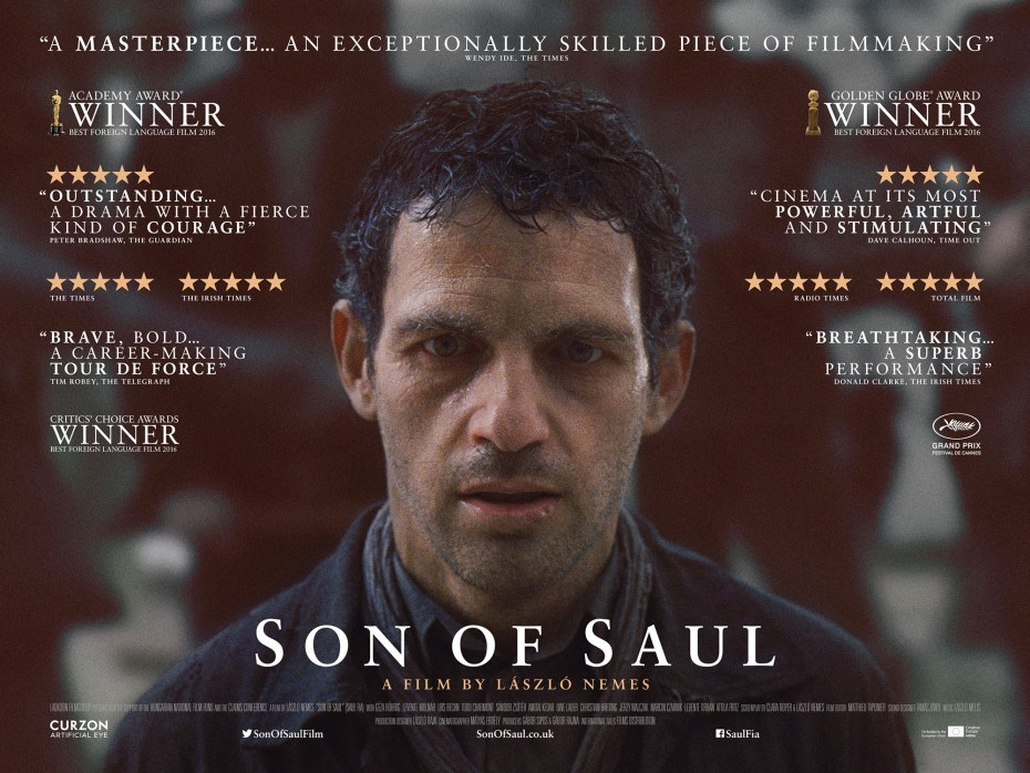 """UK poster for """"Son of Saul"""""""