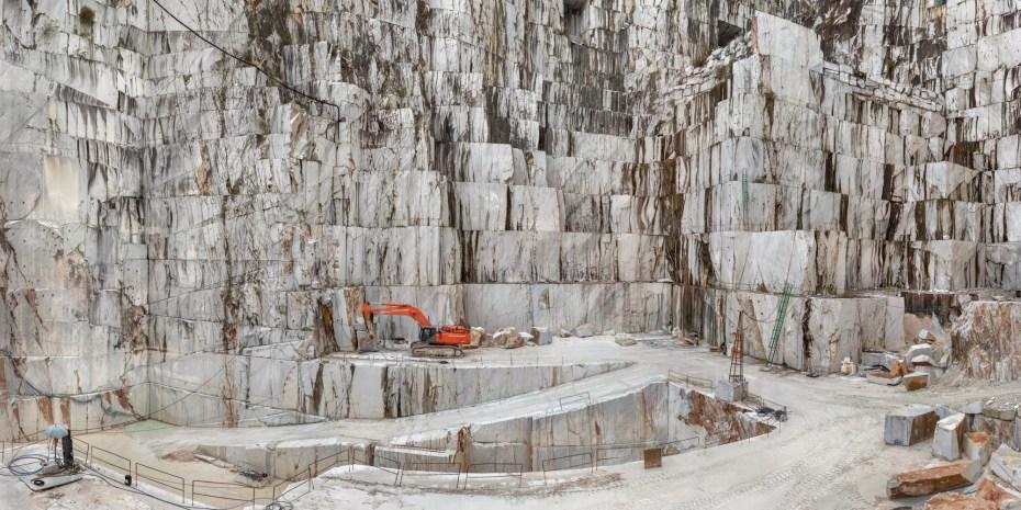 Carrara Marble Quarries, Cava di Canalgrande, Carrara, Italy.