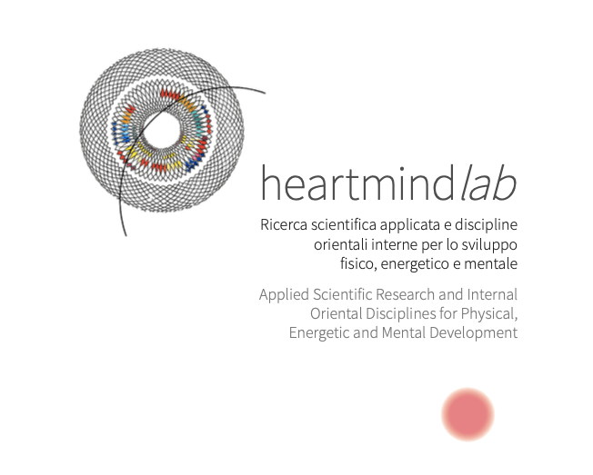 The cover of heartmind Lab's printed brochure.