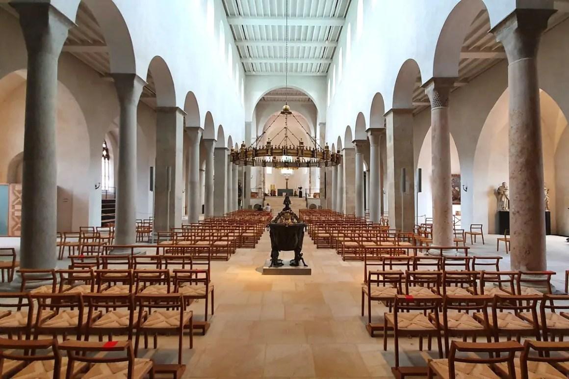 Hildesheim Cathedral binnen