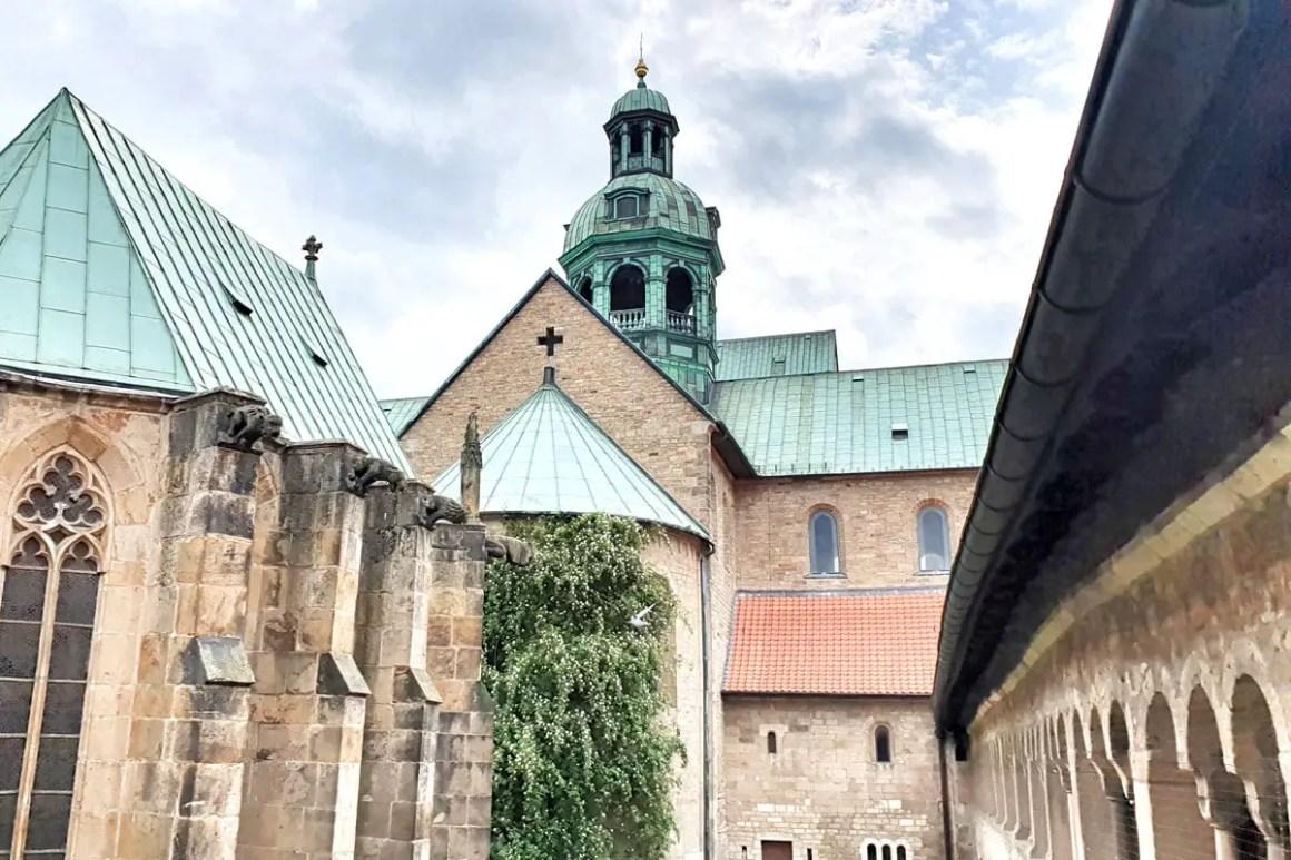Hildesheim kathedraal perspectief