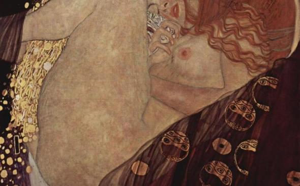 Danae, di Gustav Klimt