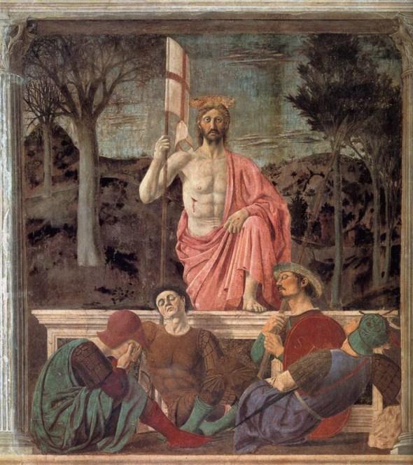 Piero della Francesca, Resurrezione (1450-1463)