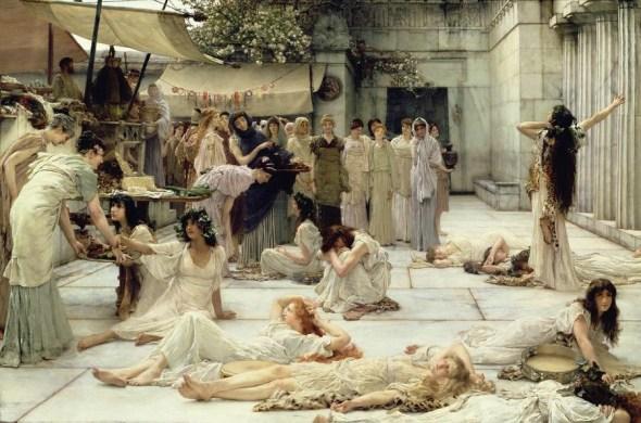 Le donne di Anfissa, di Lawrence Alma-Tadhema