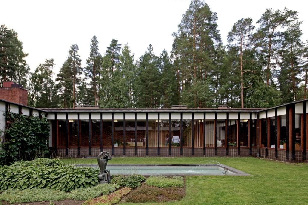 Saynatsalo Town Hall by Alvar Aalto