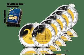 2-Euro-Gedenkmünzen Komplettsatz Niedersachsen