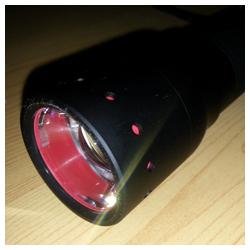 Frontansicht LED LENSER P7.2
