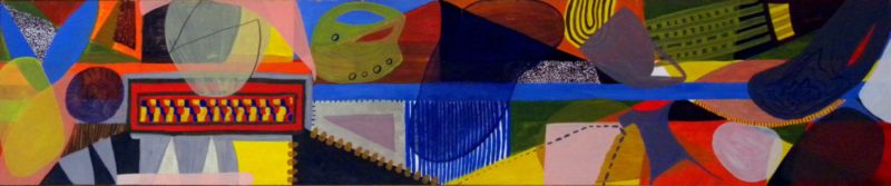 Slipstream in oil - Dayna Cowper - 2003