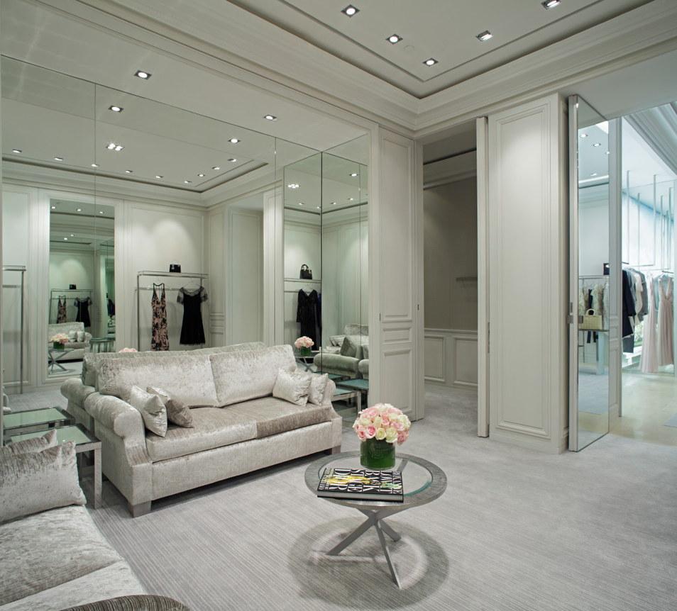 Boutique Dior Mall Of Emirates Boutiques Nido Architecture