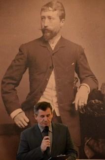 Na zdj. Jerzy Brzozowski, dyrektor Muzeum Okręgowego w Suwałkach.
