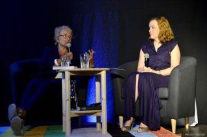 Spotkanie z Izabellą Cywińską prowadziła Monika Rowińska.