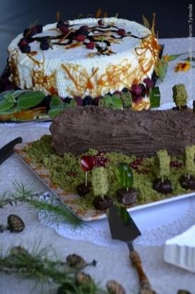 Konkursowe ciasta zdobyły równorzędne nagrody.