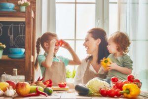 kuchnia, gotowanie, rodzina