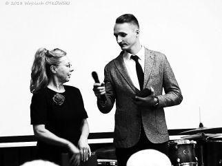 """06 X 2018, Suwalki; Hotel Velvet, Uroczysty final projektu """"Portret suwalczan lat 70. i 80."""" © 2018 Wojciech Otlowski"""