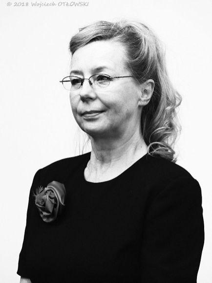 """06 X 2018, Suwalki; Hotel Velvet, Uroczysty final projektu """"Portret suwalczan lat 70. i 80."""" - Alicja Roszkowska © 2018 Wojciech Otlowski"""