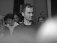 15 III 2019, Suwałki; SOK - foyer; Duchowość w sztukach wizualnych; Mieczysław Iwaszko © 2019 Wojciech Otłowski