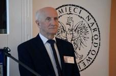 Na zdj. Tadeusz Radziwonowicz, dyrektor Archiwum Państwowego w Suwałkach