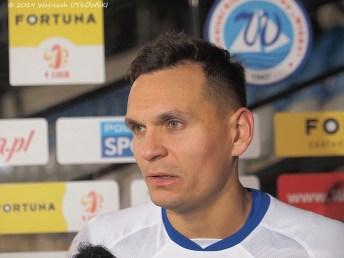 05 X 2019 ; Suwałki - Stadion Miejski; I liga, Wigry S. - Radomiak 1;4; Dawid Sołdecki © 2019 Wojciech Otłowski