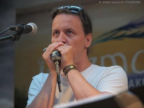 09 VI! 2020; Suwałki - Rozmarino Blues Fest - Michał Kielak © 2020 Wojciech Otłowski