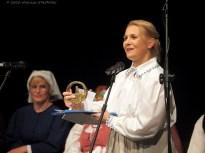 20 IX 2020 , Suwałki - SOK - Sala Kameralna - koncert finałowy: warsztatów tradycyjnych pieśni suwalskich - Na styku kultur; Anna Szafranowska © 2020 Wojciech Otłowski