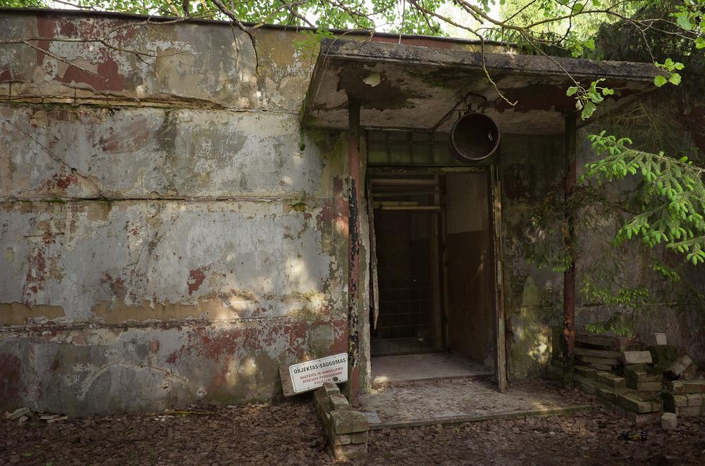 """Slapta desantininkų vadavietė arba """"Brėžnevo bunkeris"""""""