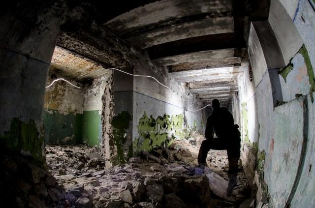 Požeminis koridorius, jungiantis patalpas