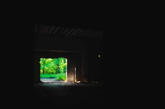 Garažo viduje