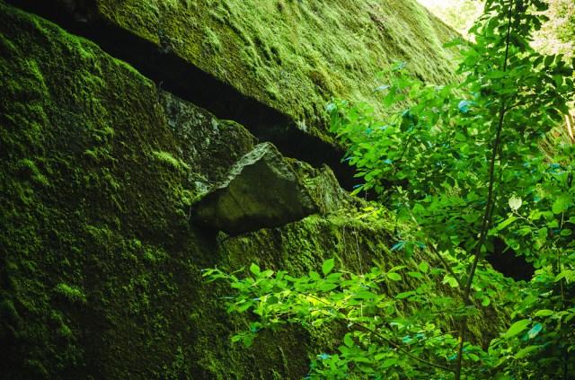 Į bunkerio sieną įsmigęs betono luitas