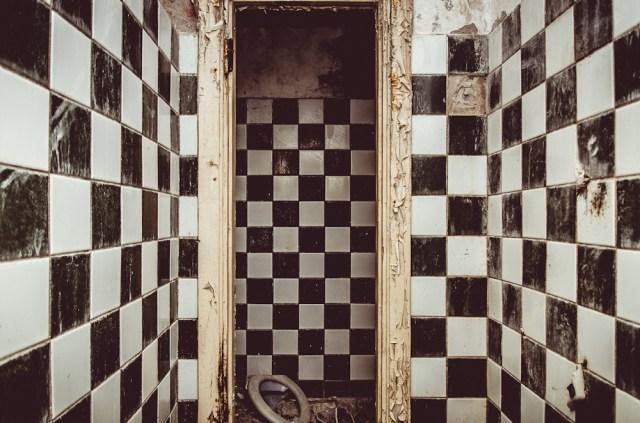 """Sanatorijos """"dačių"""" rajone tualetas"""