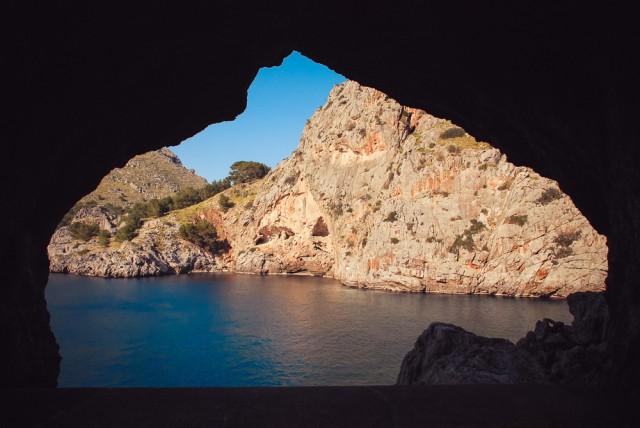 Langas uoloje