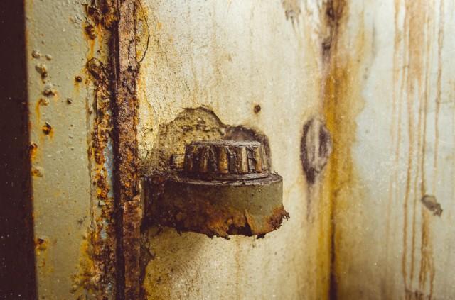 Kūginio hermetinių durų guolio dalis