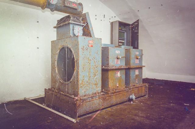 Ventiliavimo sistemos likučiai