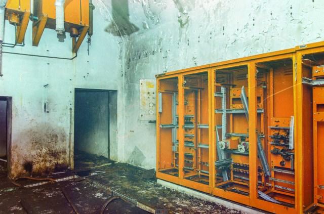 Elektros prietaisų spinta generatorinėje